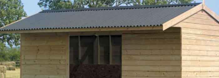 Bitumen Shed Roof Sheets